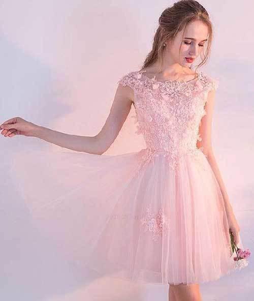Elbise Modelleri Abiye Kısa-13