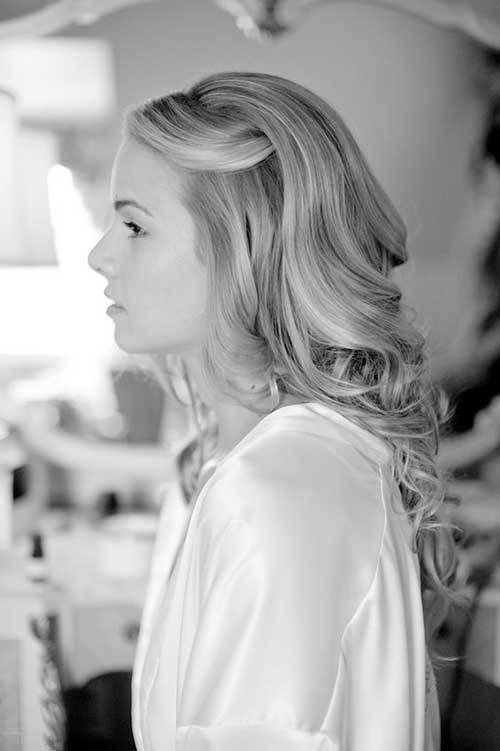 Nikah Saç Modelleri-13
