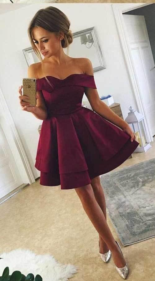 Elbise Modelleri Abiye Kısa-18