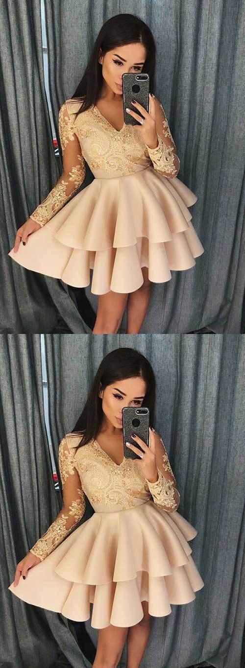 Elbise Modelleri Abiye Kısa-20