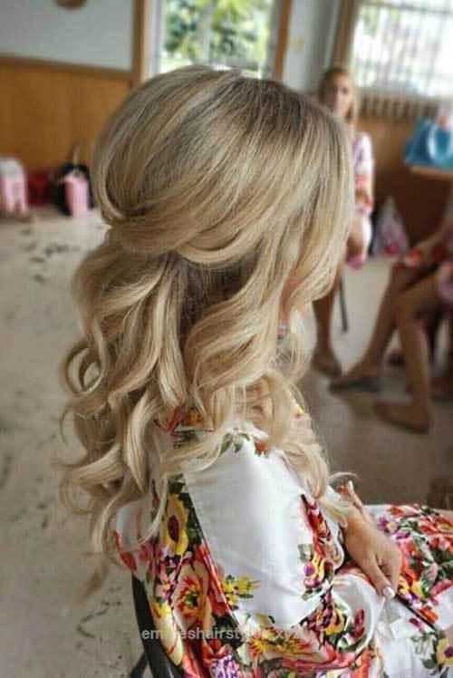 Açık Gelin Saçı Modelleri-27