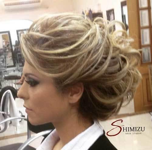 Abiye Kısa Saç Modelleri-9