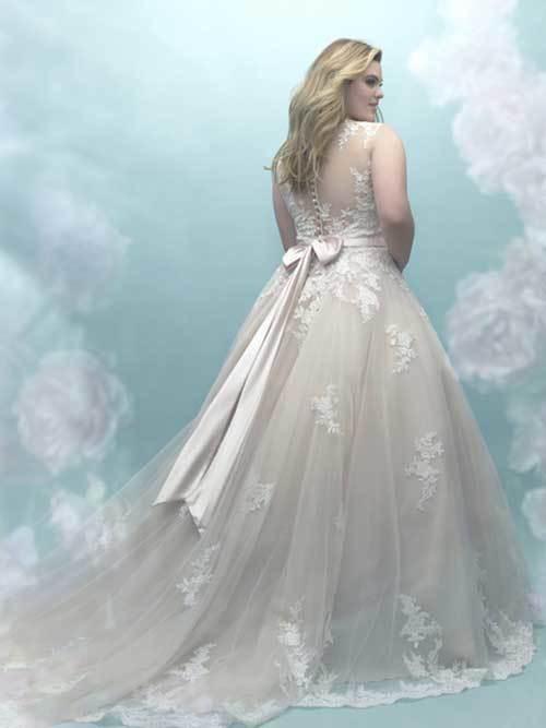 c49a04f3fac20 En Güzel Büyük Beden Gelinlik Modelleri - Düğün Telaşı
