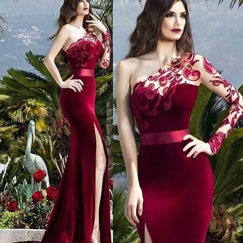 Düğün için Abiye Elbise Modelleri