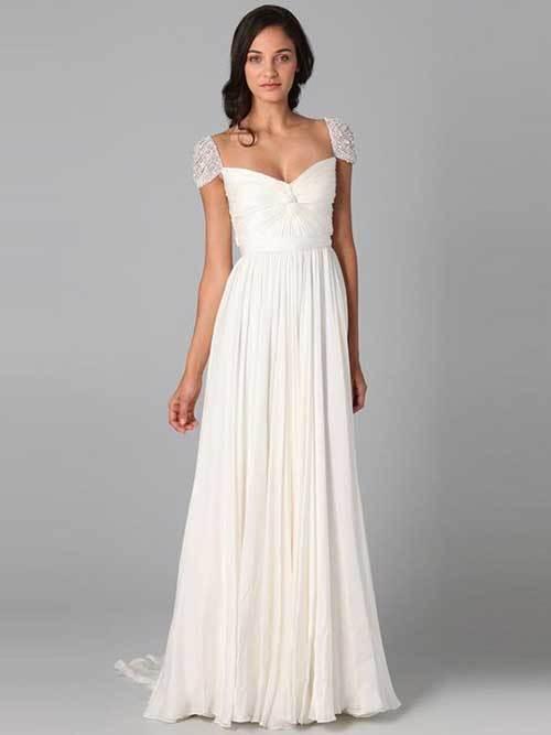 Nikah Elbisesi Beyaz