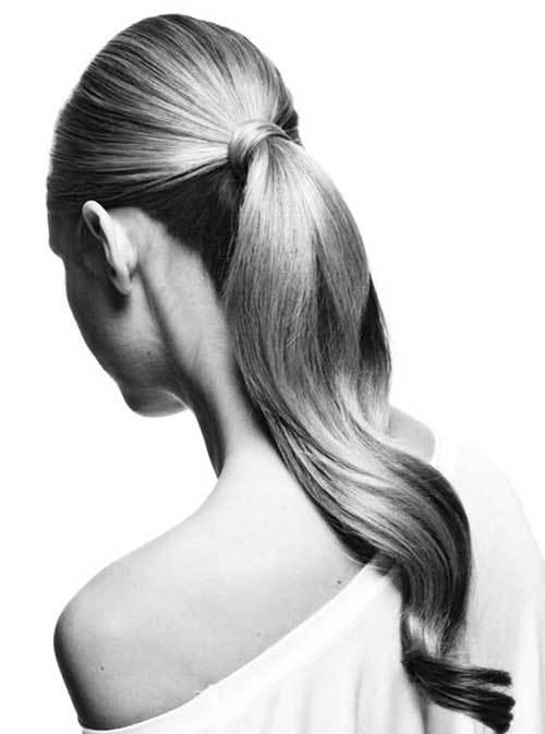 Nikah Atkuyruk Saç Modelleri