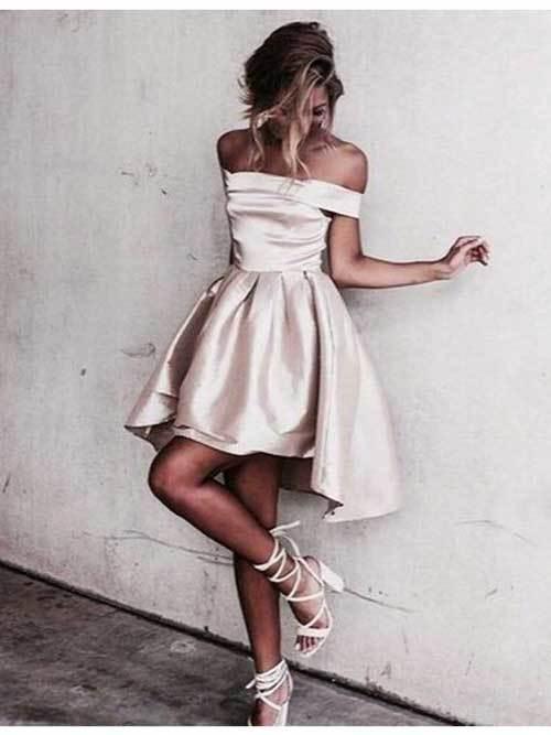 Kısa Elbise Modelleri Abiye