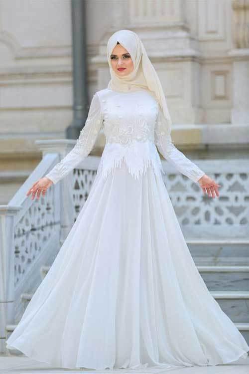 Zarif Sade Nikah Elbisesi