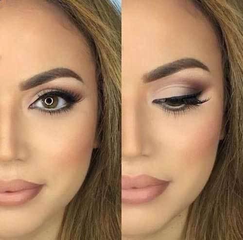 Kahverengi Gözlüler için Göz Makyajı Önerileri-14