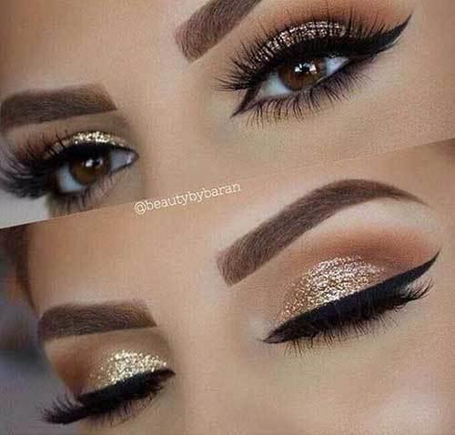 Kahverengi Gözlüler için Göz Makyajı Önerileri-16