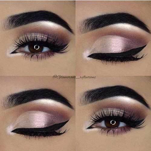 Kahverengi Gözlüler için Göz Makyajı Önerileri-18