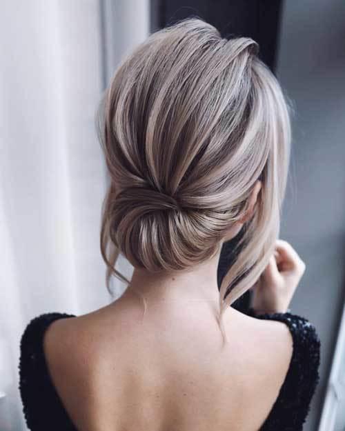 Abiye Saç Modelleri 2019