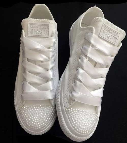 Converse Gelin Ayakkabısı Önerileri