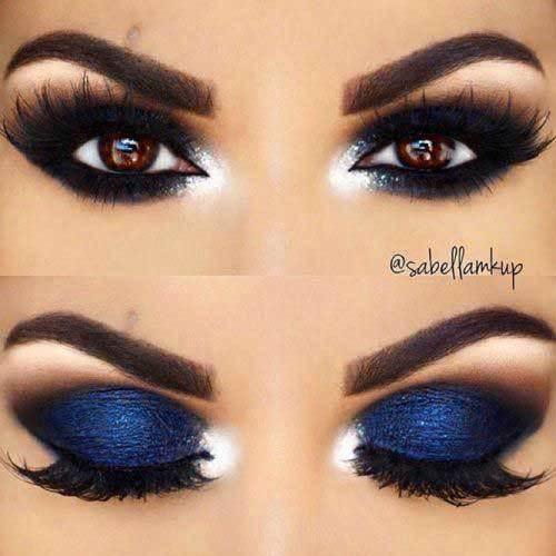 Özel Kahverengi Göz Makyajı