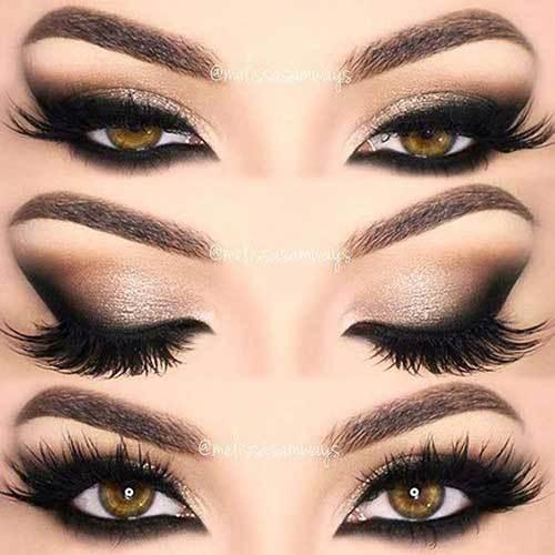 Kahverengi Gözlüler için Göz Dumanlı Makyaj Önerileri