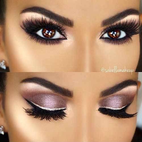 Kahverengi Göz Gelin Makyajı