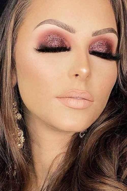 Kahverengi Gözlüler için Işıltılı Göz Makyajı Önerileri