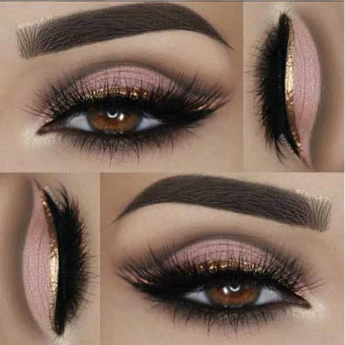 Kahverengi Gözlüler için Göz Makyajı Önerileri