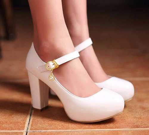 Kalın Topuklu Gelin Ayakkabısı Önerileri