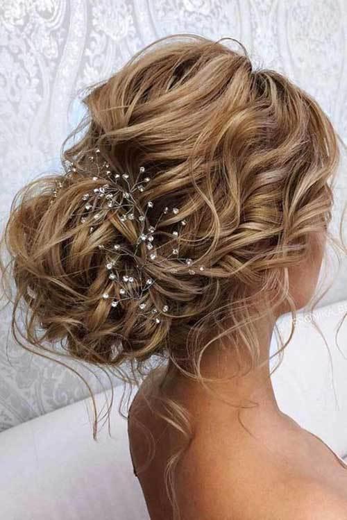 Abiye Saç Modelleri Maşalı Saça Topuz