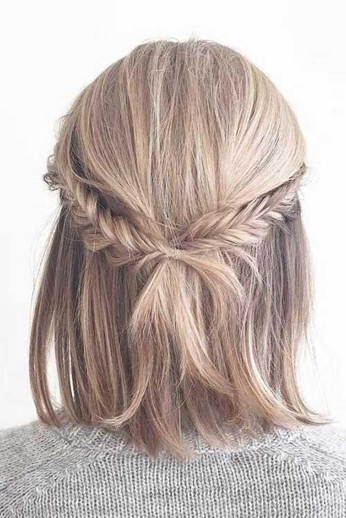 Örgülü Kısa Abiye Saç Modelleri-10