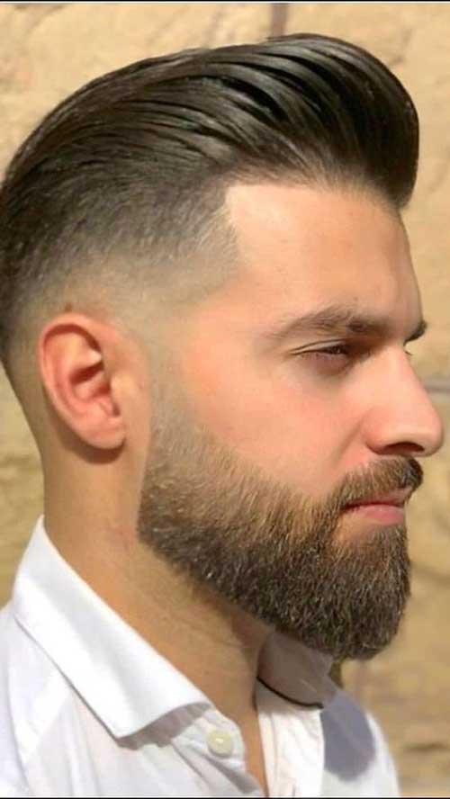 Yanları Kısa Damat Saç Sakal Modelleri-6