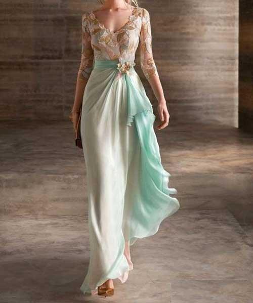 Abiye Elbise Modelleri Uzun