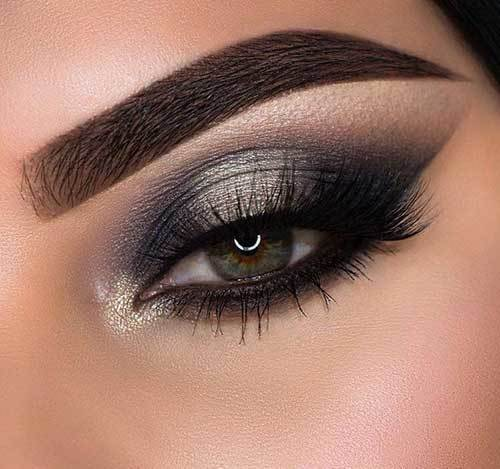 Buğulu Dumanlı Göz Makyajı-10