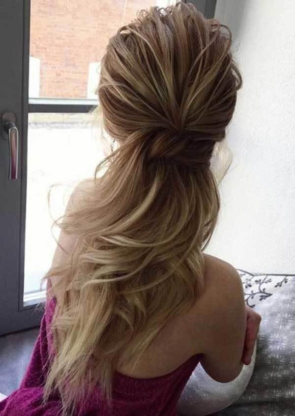 Yarım Toplu Düğün Saç Modelleri-11