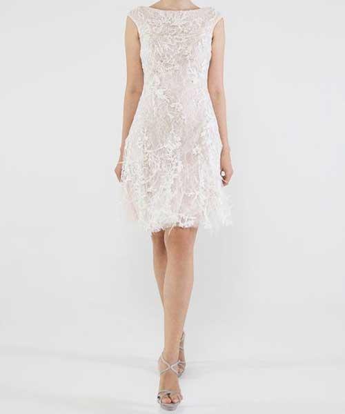 Zarif Nikah Elbisesi Modelleri-11
