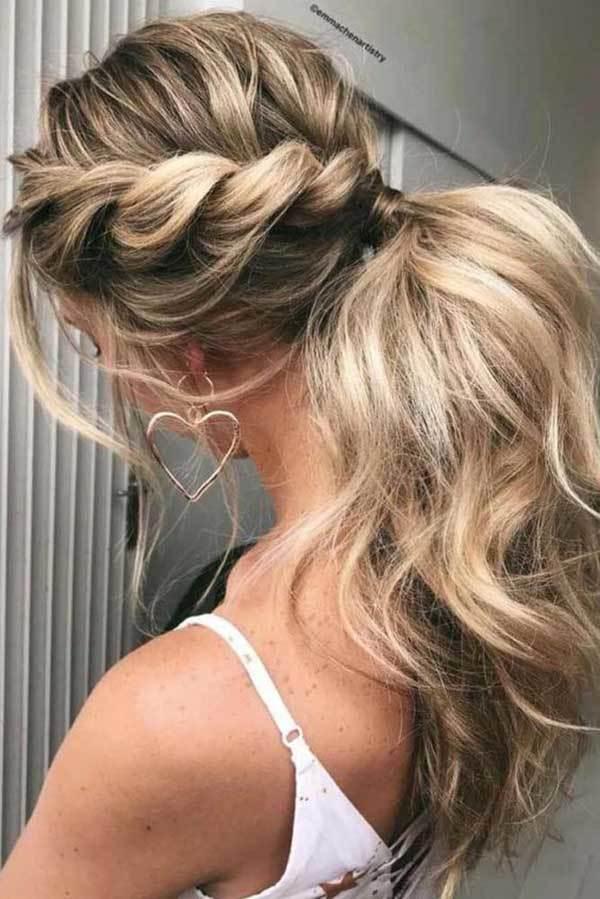 Örgülü Düğün Saç Modelleri-12
