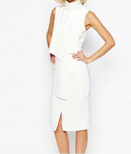 Modern Nikah Elbisesi Modelleri-14