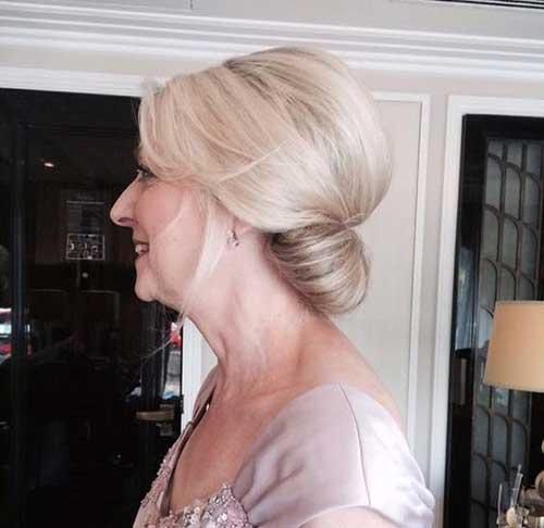 Klasik Gelin Annesi Saç Modelleri-16