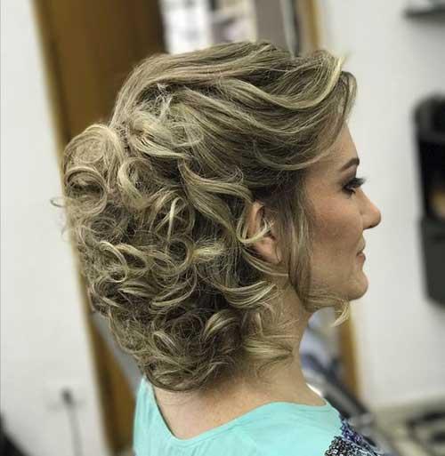 Gelin Annesi Maşalı Saç Modelleri-17
