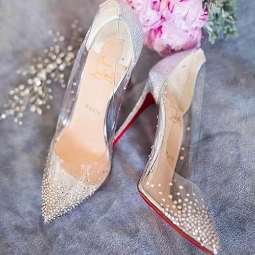 Şeffaf Gelin Ayakkabı Modelleri-18