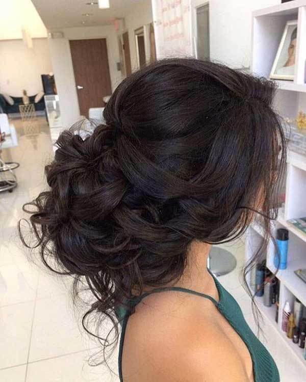 Düğün Ense Topuzu Saç Modelleri-19