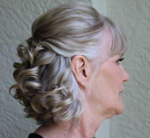 Gelin Annesi Abiye Saç Modelleri-19