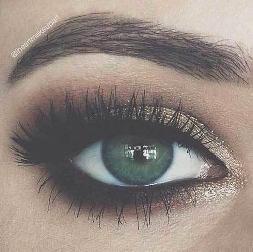 Buğulu Göz Makyajı-19