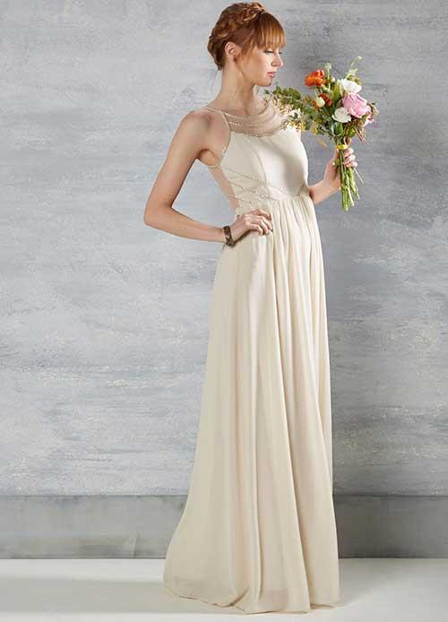 Uzun Nikah Elbisesi Modelleri-19