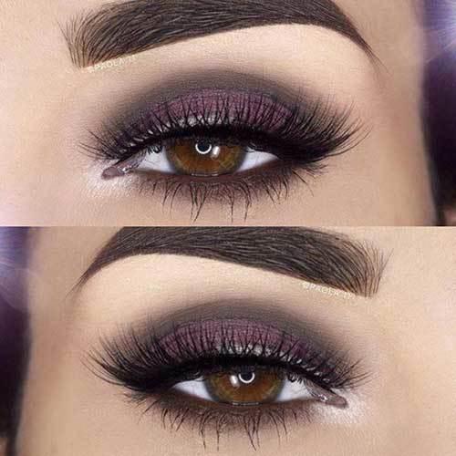 Buğulu Göz Makyajı-27