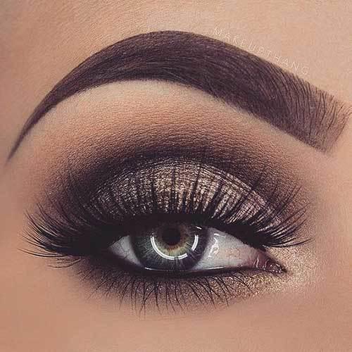 Buğulu Göz Makyajı-29