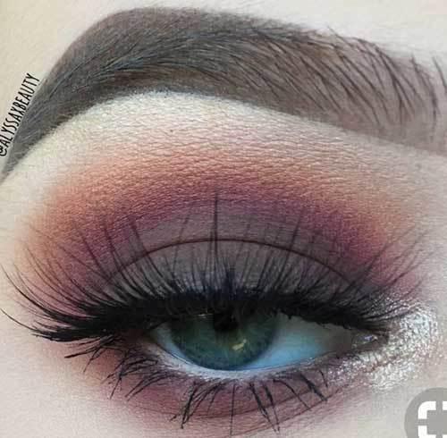 Buğulu Göz Makyajı-30