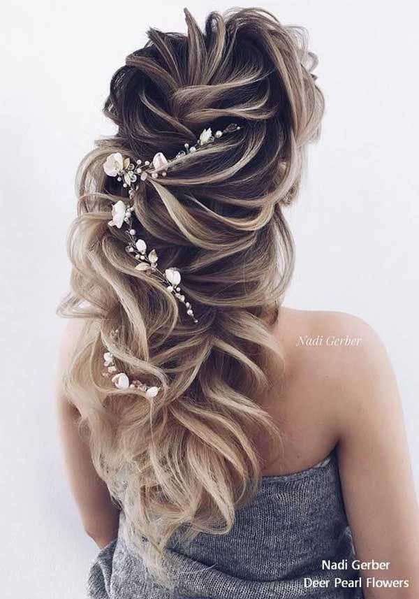 Düğün Işıltılı Saç Modelleri-7