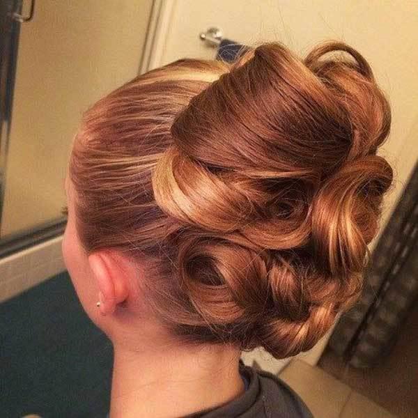 Düğün Topuz Saç Modelleri-9