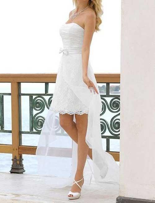 Beyaz Nikah Elbisesi Modelleri