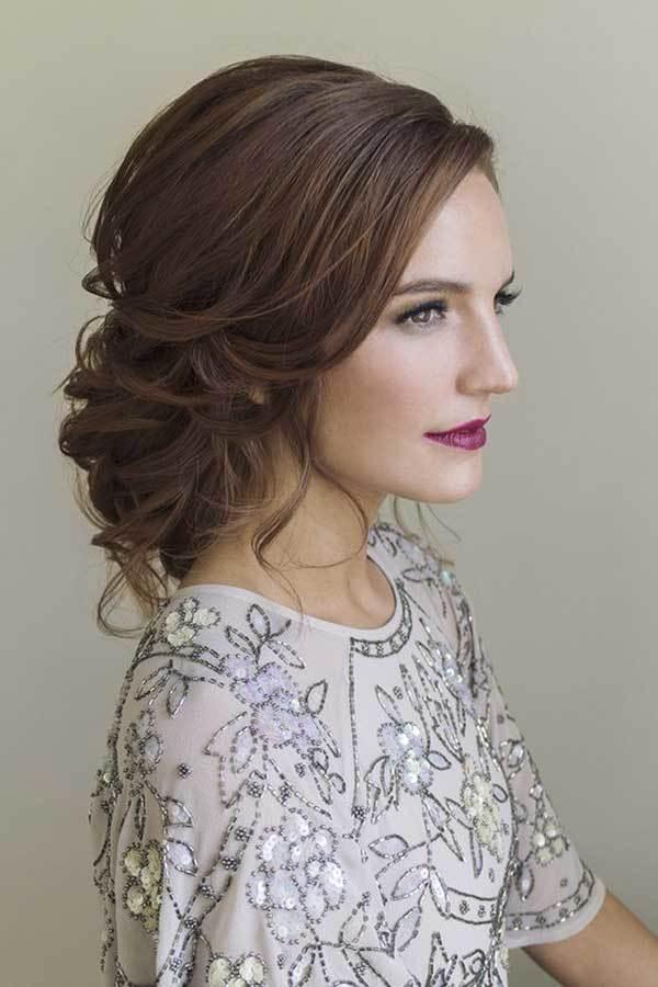 Düğün için Saç Modelleri