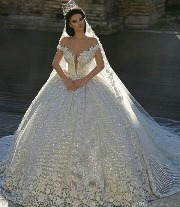 Prenses Model Gelinlik-6