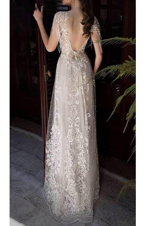 Beyaz Nikah Elbisesi