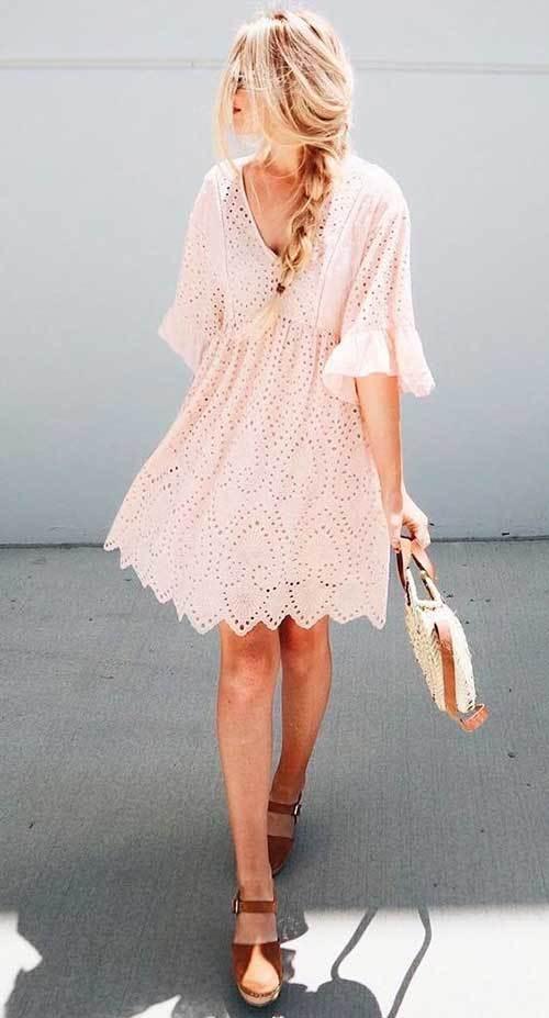 Kısa Abiye Yazlık Elbise Modelleri-19