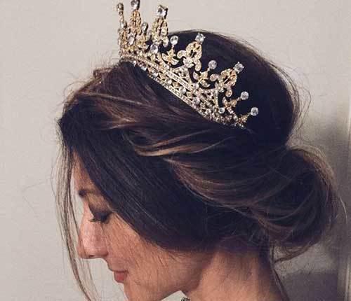 Kraliçe Gelin Tacı Modelleri-20